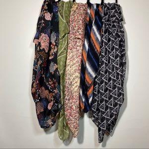 5sheer large infinity scarves